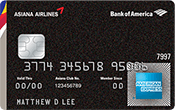 Asiana Airlines Credit Card Image