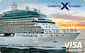 Celebrity Cruises® Visa Signature® Credit Card Image