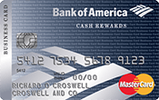 Cash Rewards for Business MasterCard® Image