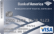 WorldPoints® Travel Rewards for Business Visa® Card Image