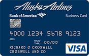 Alaska Airlines Visa® Business Card Image