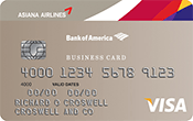Asiana Visa® Business Card Image