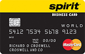 Spirit Airlines World MasterCard® for Business Credit Card Image