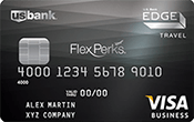 U.S. Bank FlexPerks® Business  Edge™ Travel Rewards Image