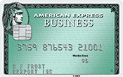 Image of Business Green Rewards Card from American Express OPEN