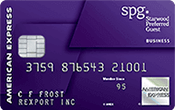 Image of Starwood Preferred Guest® Business Credit Card from American Express