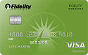 Image of Fidelity® Rewards Visa Signature® Card
