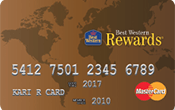 Image of Best Western Rewards® Secured MasterCard®