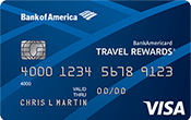Image of BankAmericard Travel Rewards® for Students