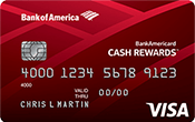 BankAmericard Cash Rewards™ for Students Image
