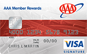 Image of AAA Member Rewards Credit Card