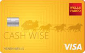 Image of Wells Fargo Cash Wise Visa® Card
