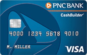 Image of PNC CashBuilder® Visa Credit Card