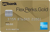 U.S. Bank FlexPerks® Gold American Express® Card Image