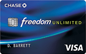 Image of Chase Freedom Unlimited℠