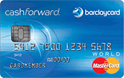 Image of Barclaycard CashForward™ World MasterCard®