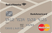 BankAmericard Secured Credit Card Image