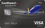 Image of Southwest Rapid Rewards® Plus Card
