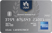 Image of USAA® Cashback Rewards Plus American Express® Card