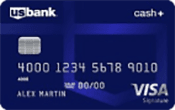 Image of U.S. Bank Cash+™ Visa Signature® Card