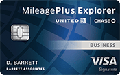 Image of United MileagePlus® Explorer Business card