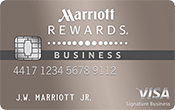 Image of  Marriott Rewards® Premier Business Credit Card