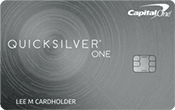 Image of Capital One® QuicksilverOne® Cash Rewards Credit Card
