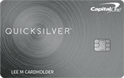 Image of Capital One® Quicksilver® Cash Rewards Credit Card