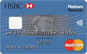 Image of HSBC Platinum Mastercard® with Rewards credit card