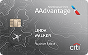 Image of Citi® / AAdvantage® Platinum Select® World Elite™ Mastercard®