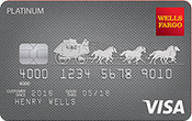 Image of Wells Fargo Platinum Visa® Card
