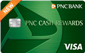 Image of PNC Cash Rewards℠ Visa®