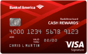 Image of BankAmericard Cash Rewards™ Credit Card