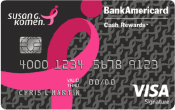 Image of Susan G. Komen® Credit Card