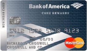 Compare small business credit cards valuepenguin bank of america business advantage cash rewards mastercard credit card reheart Gallery