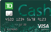 Image of TD Cash Credit Card
