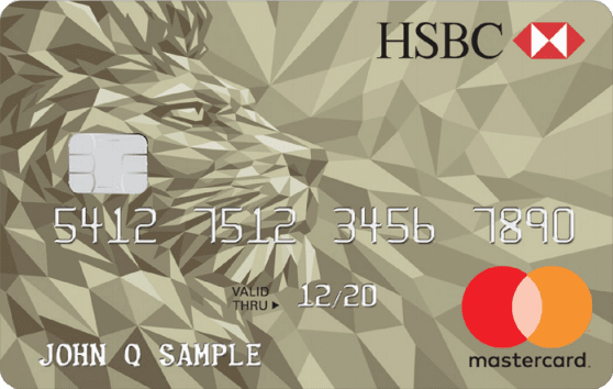 Image of HSBC Gold Mastercard® credit card