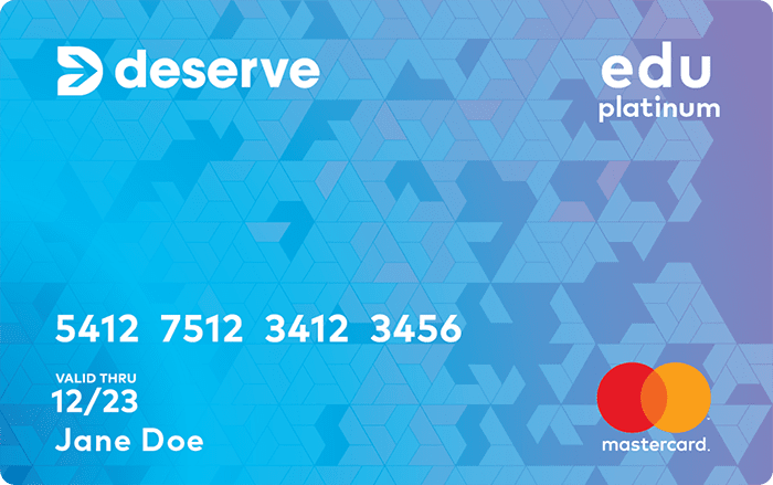 Image of Deserve® Edu Mastercard For Students