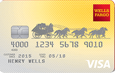 Image of Wells Fargo Cash Back College Card