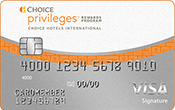 Image of The Choice Privileges® Visa® Card