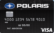 Image of Polaris Visa Credit Card