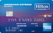 Image of Hilton Honors American Express Business Card