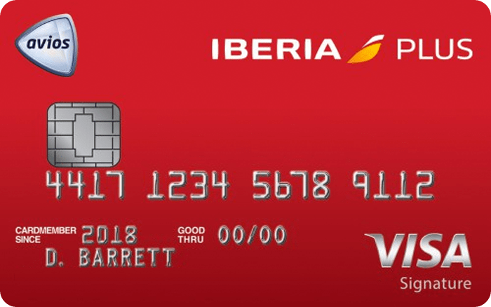 Image of Iberia Visa Signature® Card
