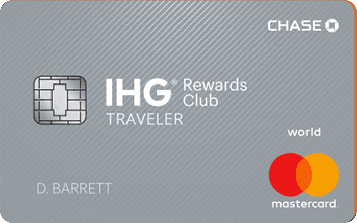 Image of IHG® Rewards Club Traveler Credit Card