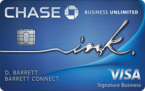 Image of New! Ink Business Unlimited℠ Credit Card