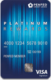 Image of PenFed Platinum Rewards VISA Signature® Card