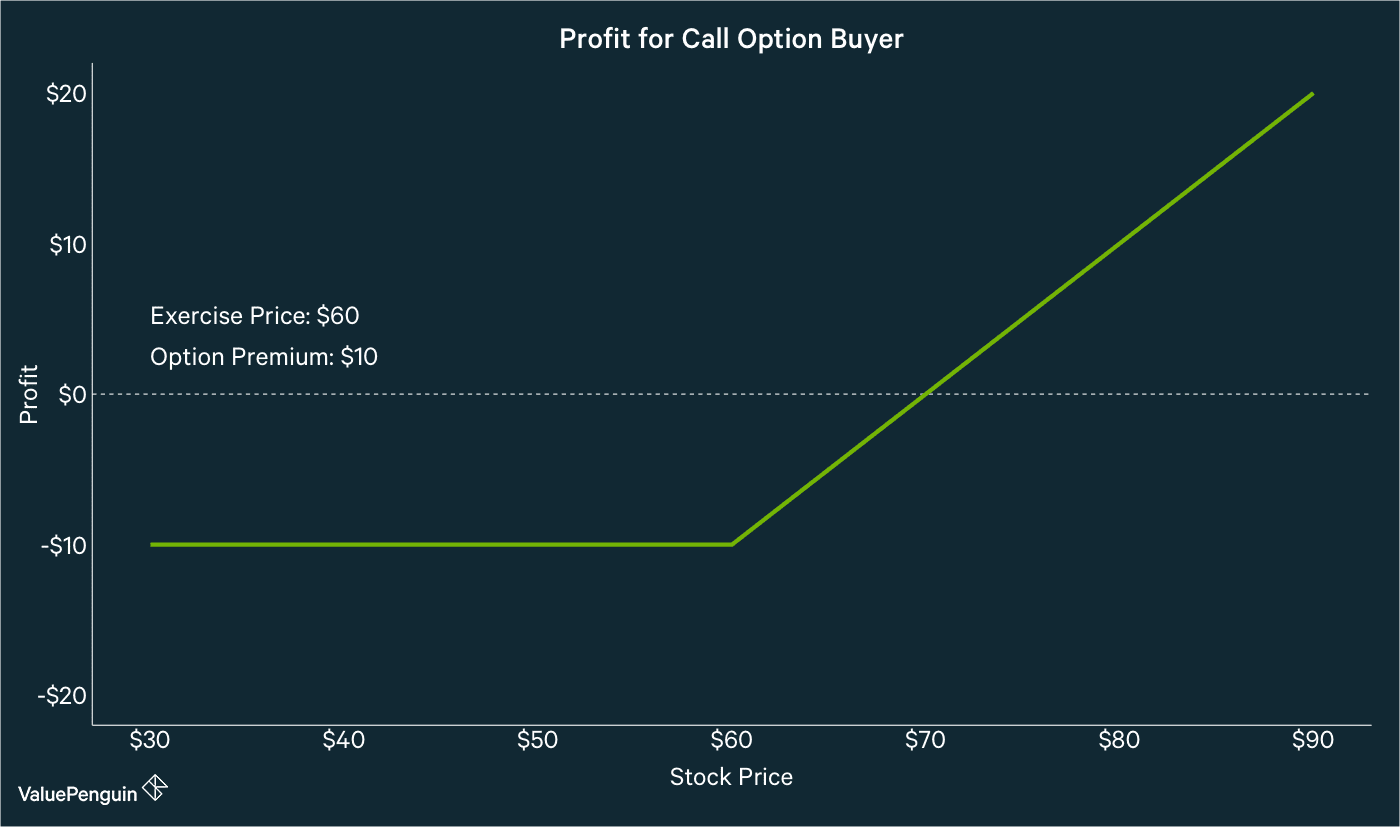 Call Option Buyer Payout