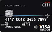 Image of Citibank PremierMiles Visa Card