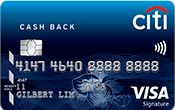 Image of Citibank Cashback Visa Card