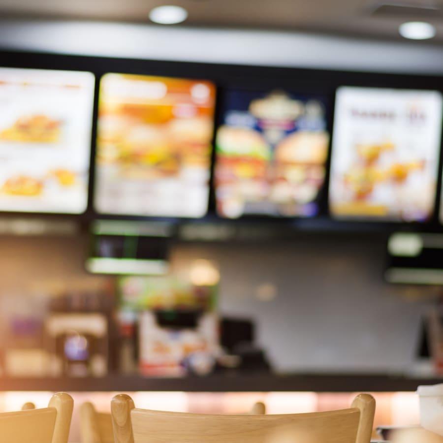 fast food restaurant asia